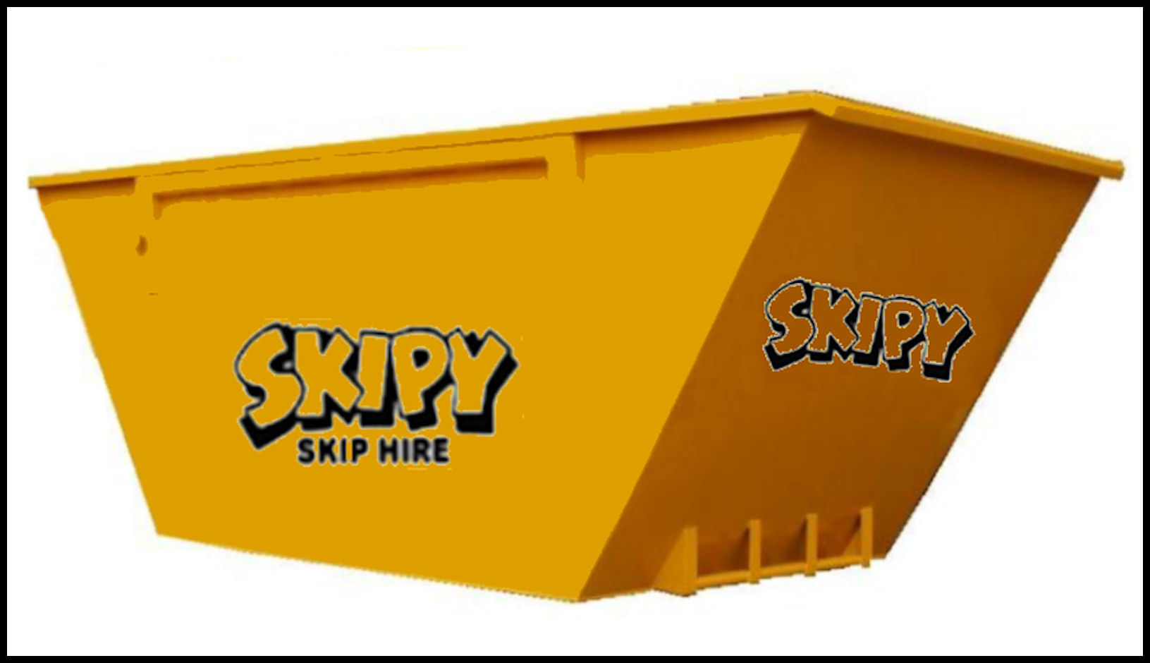 An example of one of our Builders/Maxi skips